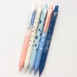 K47 3X Proste Słodkie Drzewo Prasy Mechaniczne Ołówek Szkoła Biurowe Student Biurowe Kid Ołówek Automatyczny 0.7mm