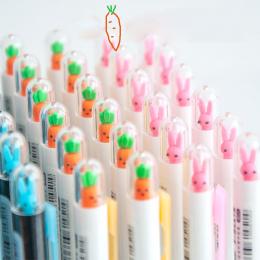 G33 2X Śliczne Kawaii Królik Marchew Automatyczne Mechaniczne Ołówek Pisania Szkoły Biurowymi Uczeń Piśmienne 0.5mm