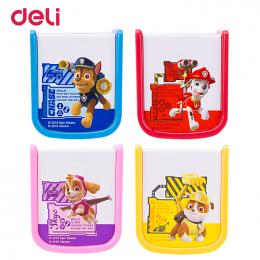 Deli hurtownie 4 kolory kawaii kreskówki szczeniak wzór dwa otwory temperówka do szkoła kid urząd papiernicze prezent paw patrol