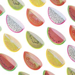 Nowość Owoce Plastikowa Temperówka Ołówek Cutter Nóż Koreański Papiernicze Szkolne Papelaria