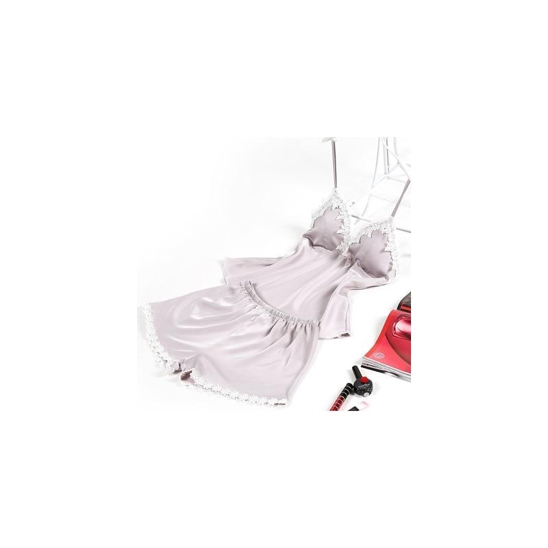 3d4d7468463880 ... Fiklyc marki piżamy zestawy dla kobiet fashion lace satin lato bielizna  nocna seksowna bielizna piżamy piżamy