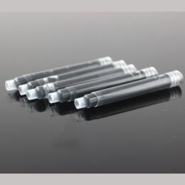 30 sztuk/partia JINHAO 2.6mm Kaliber Uniwersalny Wymienny Czarny i Niebieski Pióro Przenośny Pojemnik Z Tuszem Wkłady