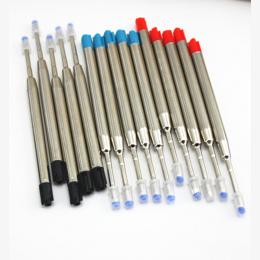 10 sztuk/partia, (Czarny) Długopis Napełniania Dla, nowa Konstrukcja Pióra Pręty/cena Hurtowa luksusowe metal gel pen refill