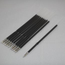 10 sztuk/partia 0.7mm Długopis Pręt Stander Długopis Napełniania Ołów Czarny Niebieski 107mm Biuro Szkolne
