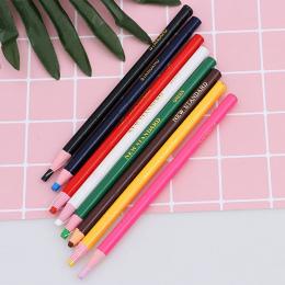 3 SZTUK odkleić Smar Ołówek Kolorowe Pastel Marker Pen Rolki Papieru Wosku Ołówek Do Metalu Szkła Tkaniny Dostaw Sztuki
