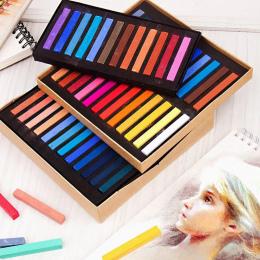 Marie's 12 24 36 48 Kolory/Set Malarstwo Pastelowe Kredki Miękkiej Suchej Art Drawing Set Kolory Pastel Chalk papeterii dla Obra