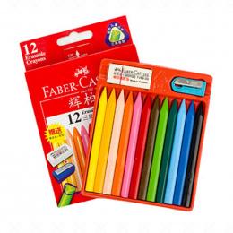 Faber Castell 12/24 sztuk Kredka Pastel Wymazywalnej Trójkąt Zestaw Pastel Kredki do Rysunek Ołówkiem Kolor Zestaw dla dzieci