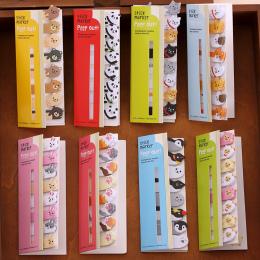 Mini Śliczne Kawaii Cartoon Zwierzęta Kot Panda Memo Pad Sticky Notes Memo Notebook Piśmienne Notatka Papieru Naklejki Szkolne