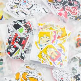 Inny Styl Zwierząt Mini Papieru Naklejki Dekoracje DIY Ablum Pamiętnik Scrapbooking Naklejki Etykiety Kawaii Biurowe