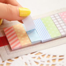 Słodkie 160 Stron Naklejki Szkolne Flagi Memo Mini Karteczki Memo Pad Dziewczyny Prezenty