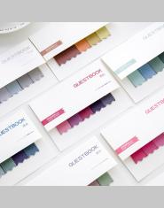 DIY Kolor Gradientu Kreatywny Biuro Nowość Sticky Notes Planner Naklejki Strona Indeks Post Office Szkolne Papiernicze