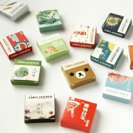 40 sztuk/zestaw Mini cartoon naklejki serii Kawaii Album Scrapbooking uszczelnienie naklejki Piśmiennicze szkoła materiał materi