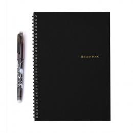 2018 Elfinbook Inteligentny Wielokrotnego Użytku Wymazywalnej Spirali A5 Notebook Papieru Notatnik Dziennik Urzędowy Szkoły Tury