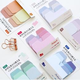 Kolorowe Proste Kolor Gradientu Samoprzylepne Bookmark Memo Pad Sticky Notes N Razy Indeksy Szkoły Biurowymi