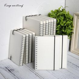 A5 A6 Spirali książki cewki Notebooka Rzeczy Do Zrobienia Pokryte DOT Puste Siatki Papieru Urzędowy Dziennik Sketchbook Dla Szko