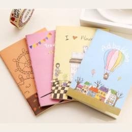 Kup 1 Get 1! w sumie 2 Sztuk! Cartoon Cukierki Kolor Pies Materiały Biurowe Diary Planner Notatnik Notebooka Książki Szkoła Ucze