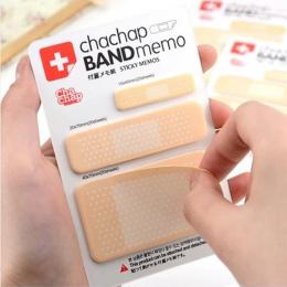 DIY Śliczne Band pomocy Podkładki Memo Pad Sticky Note Kawaii Naklejki Papieru Uwaga Kreatywny Koreański Biurowe Studenckie 322