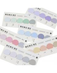 Okrągły Kształt Różne Kolorowe Samoprzylepne N Razy Memo Pad Sticky Notes Post It Dodaj Do Ulubionych Szkolne Materiały Biurowe