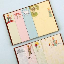 1X Kreatywny mały Książę Memo Pad tygodnik plan Karteczki Post papiernicze Szkolne Planner Papieru Naklejki