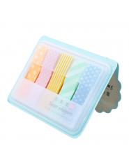 1 pc Śliczne Kawaii Cukierki Kolorowe Stick Markery Book Page Indeks Flagi Karteczki Memo Pad Paster Naklejki Biura Szkoły dosta