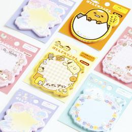 1X Japonii sanrio sticky note Post Memo Pad Kawaii Szkolne Planner Naklejki Zakładki Papieru Koreański Piśmienne