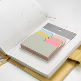 6 kolory 90 Arkusze Zapisu Indeks Uwaga Papieru Karteczki Post It Piśmienne Akcesoria Biurowe Szkolne