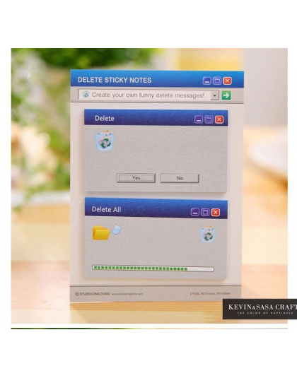 60 Stron Systemu Komputerowego Kształt Memo Pad Śliczne Naklejki Notatki Szkolne Materiały Biurowe Papiernicze Naklejka Papieru
