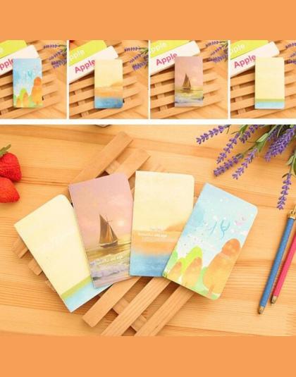 Nowy Mini Śliczne Notebook Urzędowy Dziennik Z Podszyciem Papieru Rocznika Retro Książka Notatnik