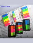 Fluorescencji kolor Samoprzylepne Dodaj Do Ulubionych Punkt It Marker Memo Memo Pad Sticky Notes Naklejki Papieru Biuro Szkolne