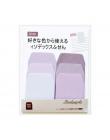 1 sztuk Kolor Gradientu Memo Pad Sticky Notes Memo Notebook Piśmienne Notatka Papieru Naklejki Szkolne