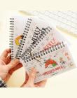 Śliczne Kawaii Cartoon Tygodniowy Planner 50 stron Coil Notebook Porządku Obrad Filofax Dla Dzieci Prezent Piękny Piśmienne Pami