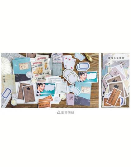 45 Arkusze/Lot W Stylu Vintage Etykiety Plan Tygodnik Karteczki Post It Naklejki Memo Pad Planner Kawaii Papiernicze Artykuły Sz