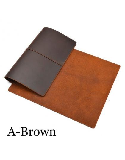 Gorąca Sprzedaż 100% Skórzana Notebook Handmade Rocznika Skóry Wołowej Dziennik Urzędowy Sketchbook Planner Kupić 1 Uzyskać 11 A
