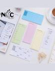 1 sztuk/worek Nowe Biuro raz w Tygodniu Codziennie Planner Papieru Koreański Piśmienne Kreskówki Naklejki Karteczki Post It Zrob