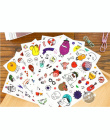6 arkusze DIY Kolorowe Króliki kawaii Naklejki Diary Planner Diary Czasopisma Uwaga Papieru Scrapbooking Albumy PhotoTag