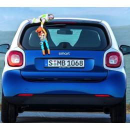 Toy Story Szeryf Chudy Woody Buzz Astral na samochód Zabawki Toy Story