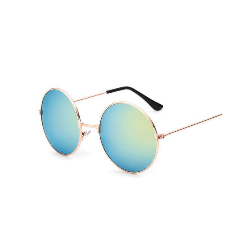 Nowa moda cukierki w stylu Vintage okrągłe lustro okulary