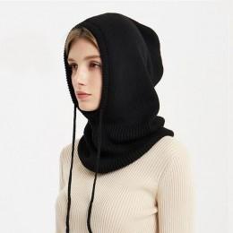 Xthree kaszmirowe zimowe czapka z dzianiny czapka zimowa dla kobiet szalik Skullies czapki zimowe czapki dla kobiet czapka męska