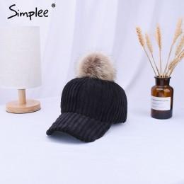 Simlpee sztruks do włosów ball regulowany kapelusz damski 2018 w nowym stylu mody jesień zima kobiety kapelusz na co dzień elega