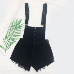 CbuCyi moda denimowe fartuchy dla kobiet kombinezon kobiet Denim pajacyki kobiet Playsuit Salopette paski kombinezony szorty paj