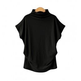 Lato kobiece bawełniane z golfem bluzka kobiety hurtownie kobiety bluzka bawełna wysokiej jakości bluzka 5200