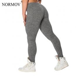 S-XL 3 Kolory NORMOV Przypadkowy Push Up Treningu Poliester Jeggings Legginsy Kobiety Lato Oddychająca Slim Legginsy Kobiet