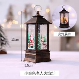 Lampion Boże Narodzenie Ledowy Świeca LED Świeczka