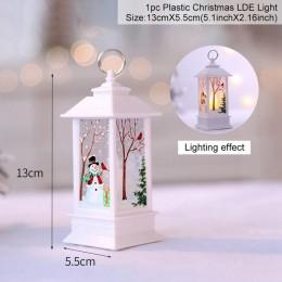 QIFU dekoracje na boże narodzenie okno naklejki świąteczne dekoracje do domu Xmas Decor wesołych boże narodzenie 2018 szczęśliwe