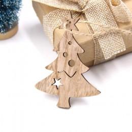 Drewniane Wisiorki Ozdoby Choinkowe Boże Narodzenie Świąteczne