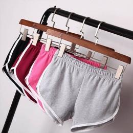 Ulica lato Casual Kobiety Krótkie Spodnie Kobiety Cały Mecz Luźne Jednolity Miękkiej Bawełny Casual Kobiet Stretch Szorty Plus S