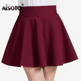 Nowy 2018 Lato styl sexy Spódnica Dziewczyna lady Koreański Krótki Skater Moda kobieta mini Skirt Kobiety Odzież Dna