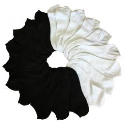 7 Pair Skarpetki damskie Krótkie Kobiece Skarpetki Low Cut Dla Kobiet Panie Biały Czarny Skarpetki Krótkie Chaussette Femme lato