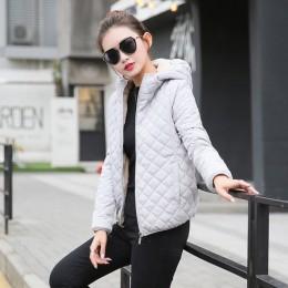 Jesień 2019 nowy podstawowe kurtki parki damskie damskie zimowe oraz aksamitna lamb płaszcze z kapturem bawełniane kurtki zimowe