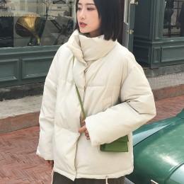Jesień zima kurtka kobiety płaszcz moda kobiet stanąć kurtka zimowa kobiety Parka ciepłe na co dzień Plus rozmiar płaszcz kurtka